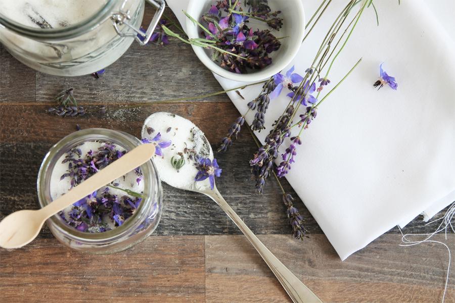 Lavendel Zucker 1