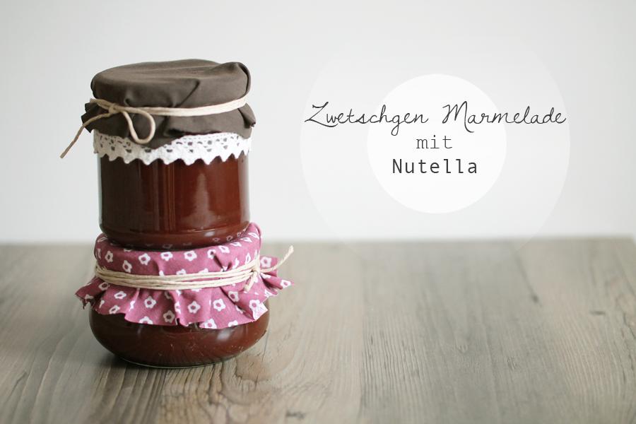 Zwetschgen-Marmelade