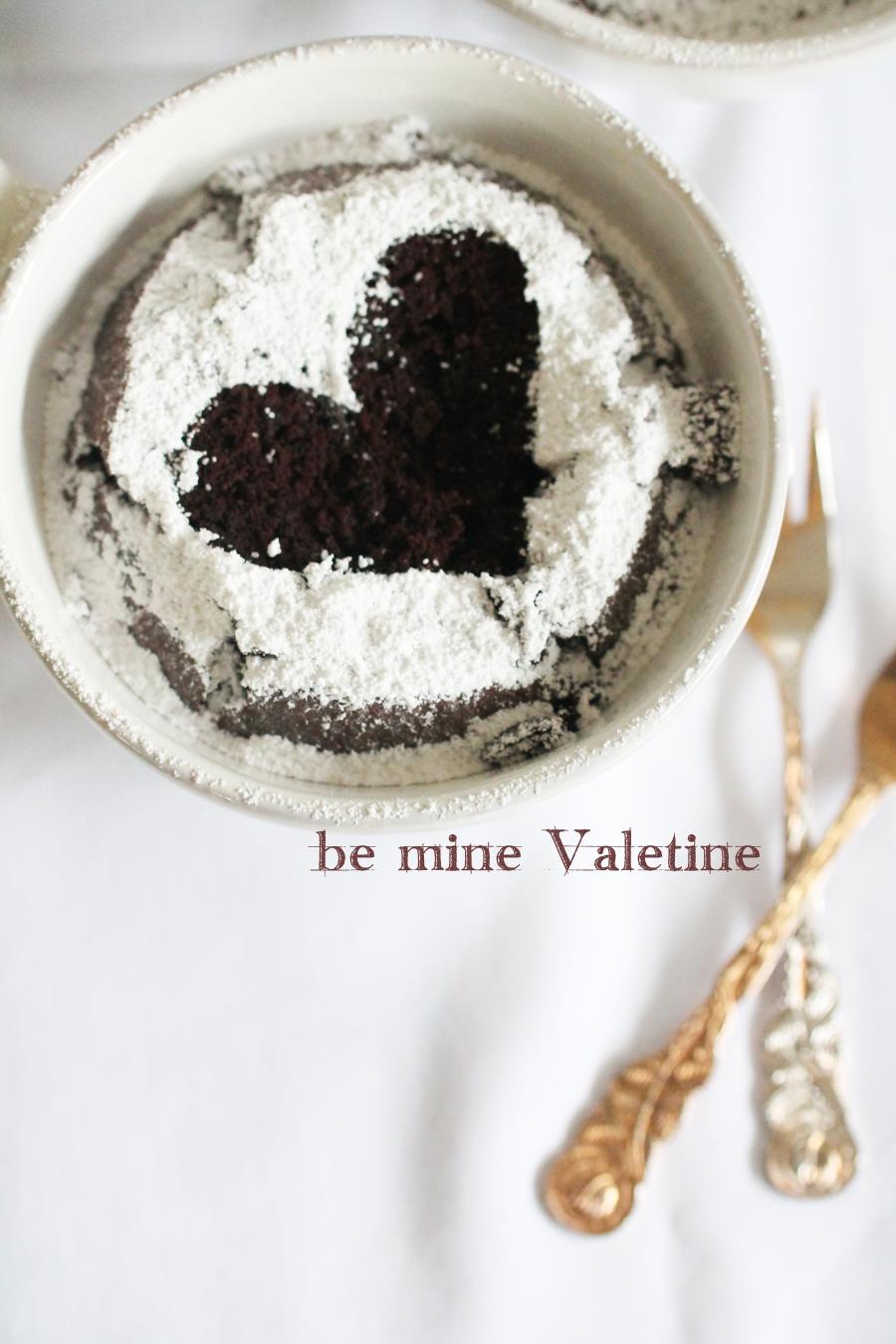 Valentinstag Chai Latte Kuchen