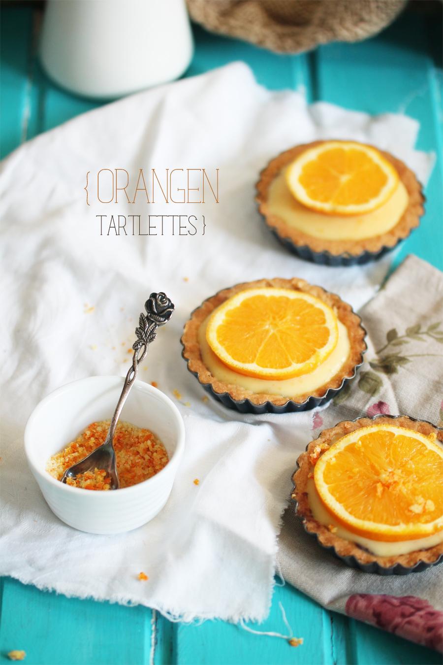 Orangen Tartlettes