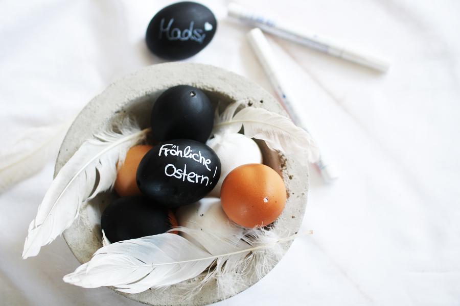 Eier bemalen Tafellack