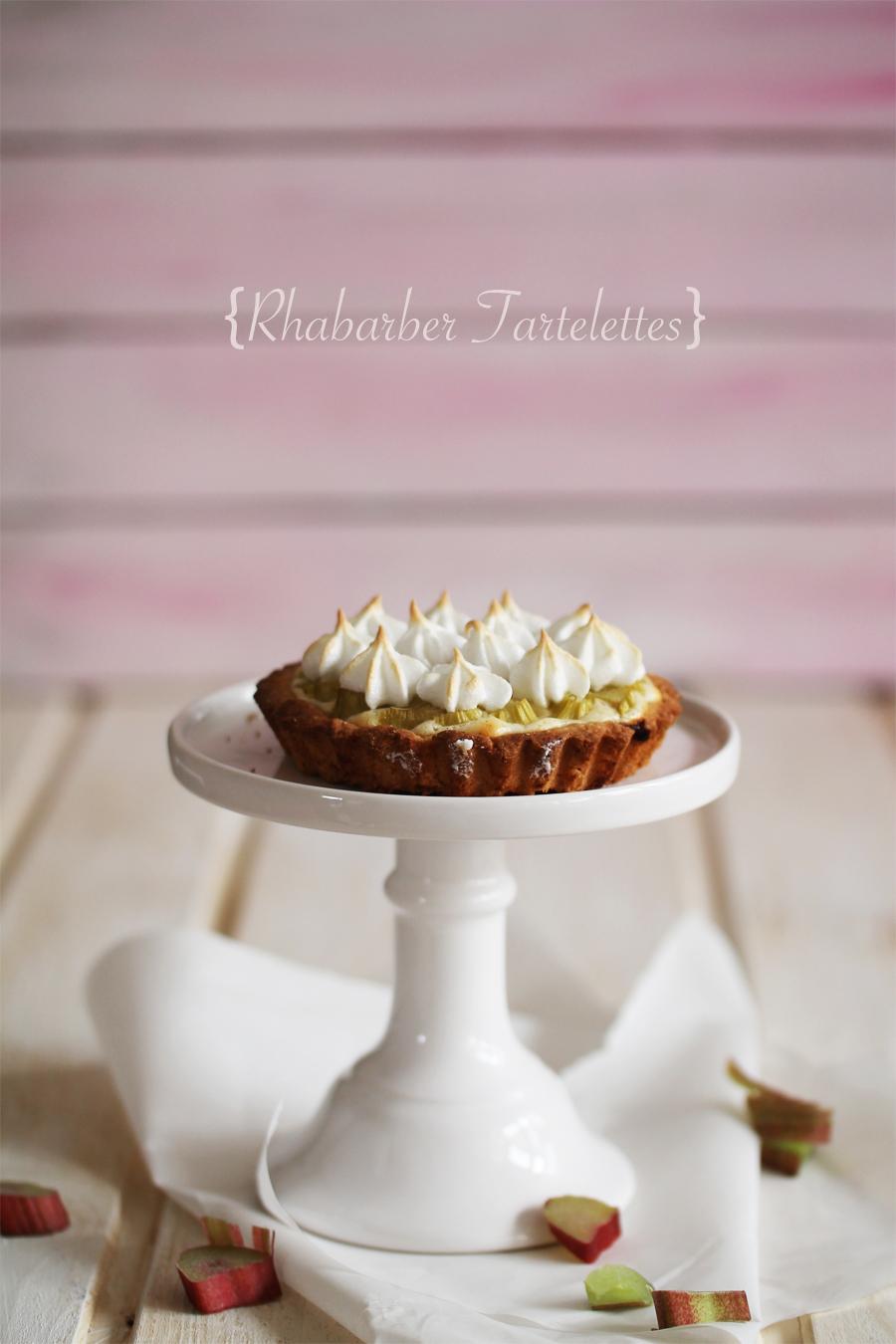 Rhabarber-Tartelettes