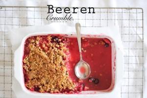 Beeren Crumble