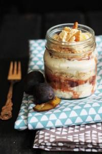 Zwetschgen Trifle