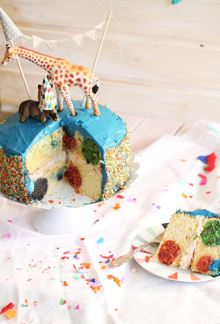 Polka-Dot-Kuchen
