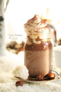 Heiße Schokolade mit Nutella