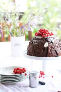 Eistorte mit Kuchen