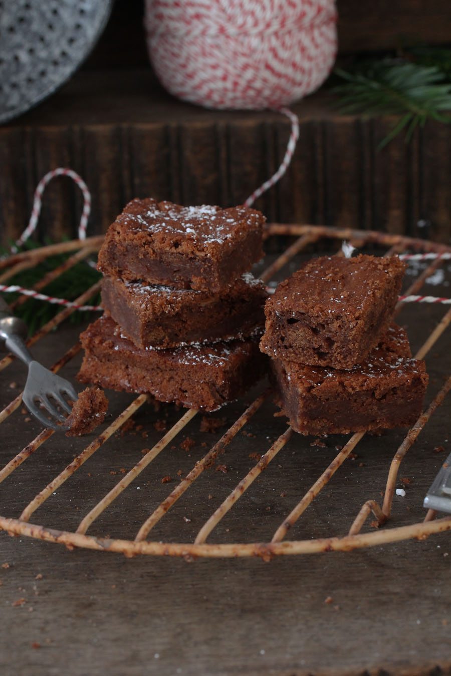 Weihnachtsbrownies