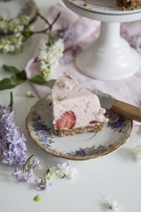 no bake erdbeer törtchen