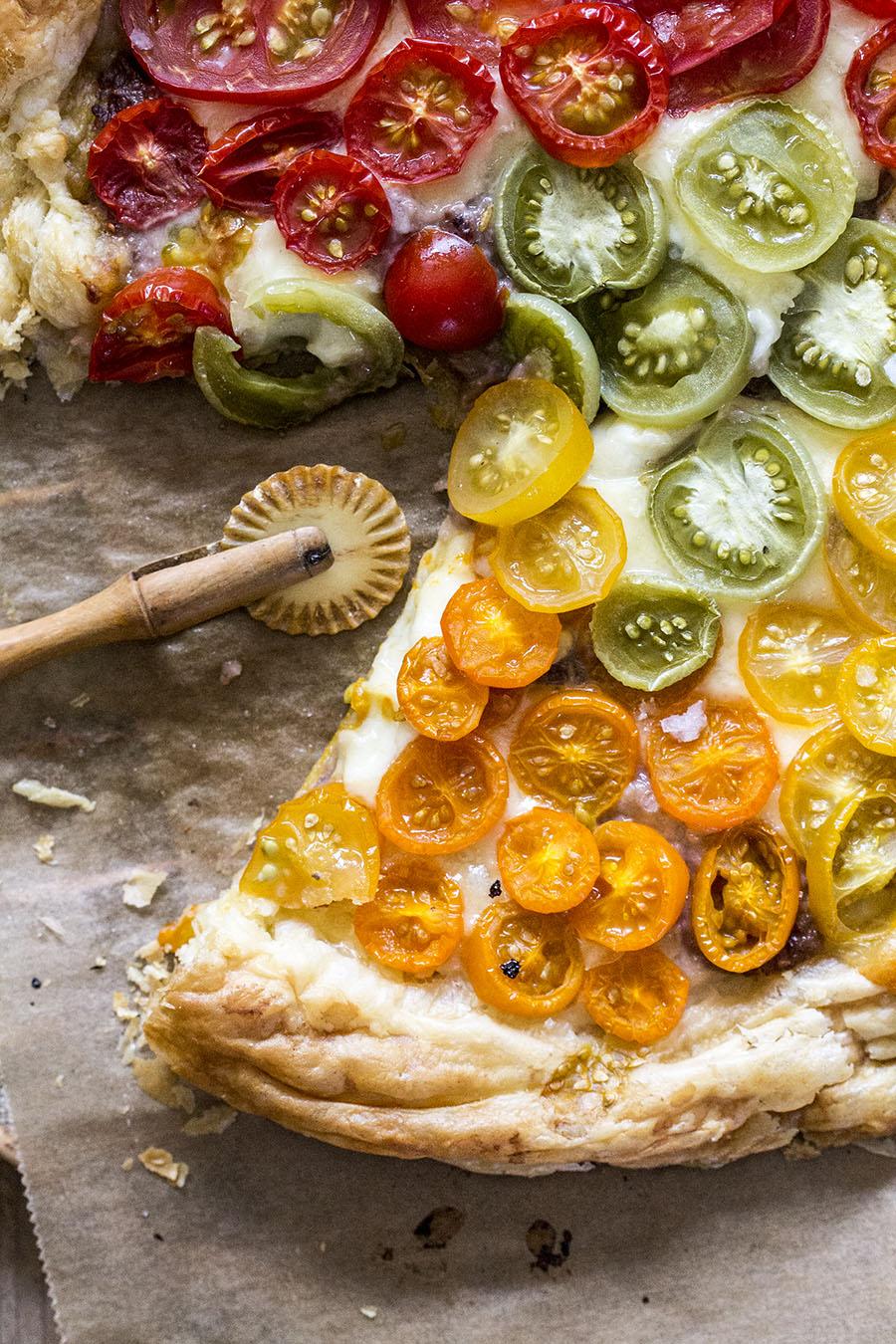 pizza regenbogen