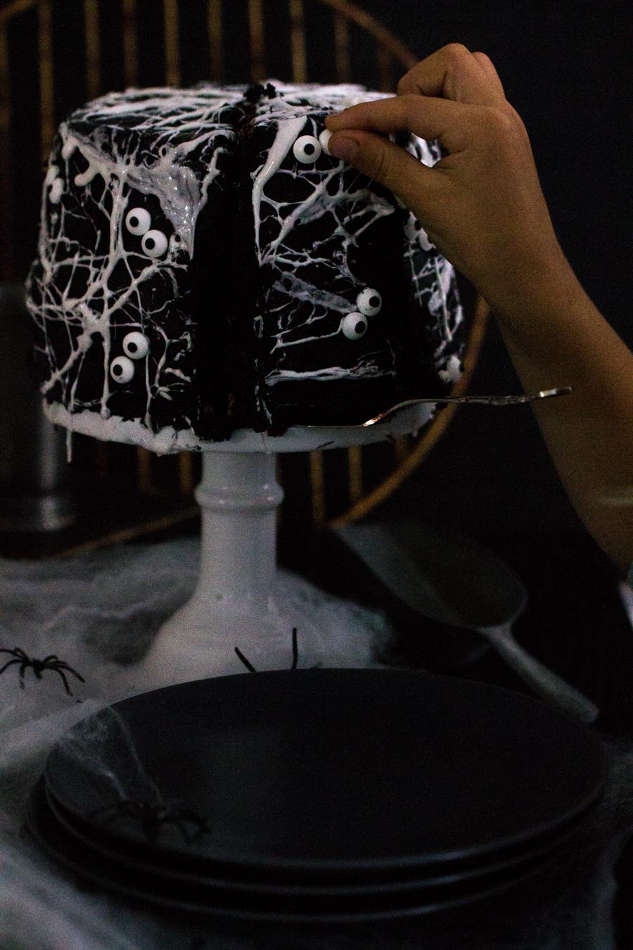 Spinnwebenkuchen