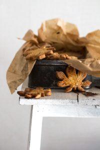 Blätter Plätzchen