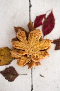 Zimt Blätter Plätzchen