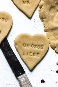 liebesbotschaft kekse