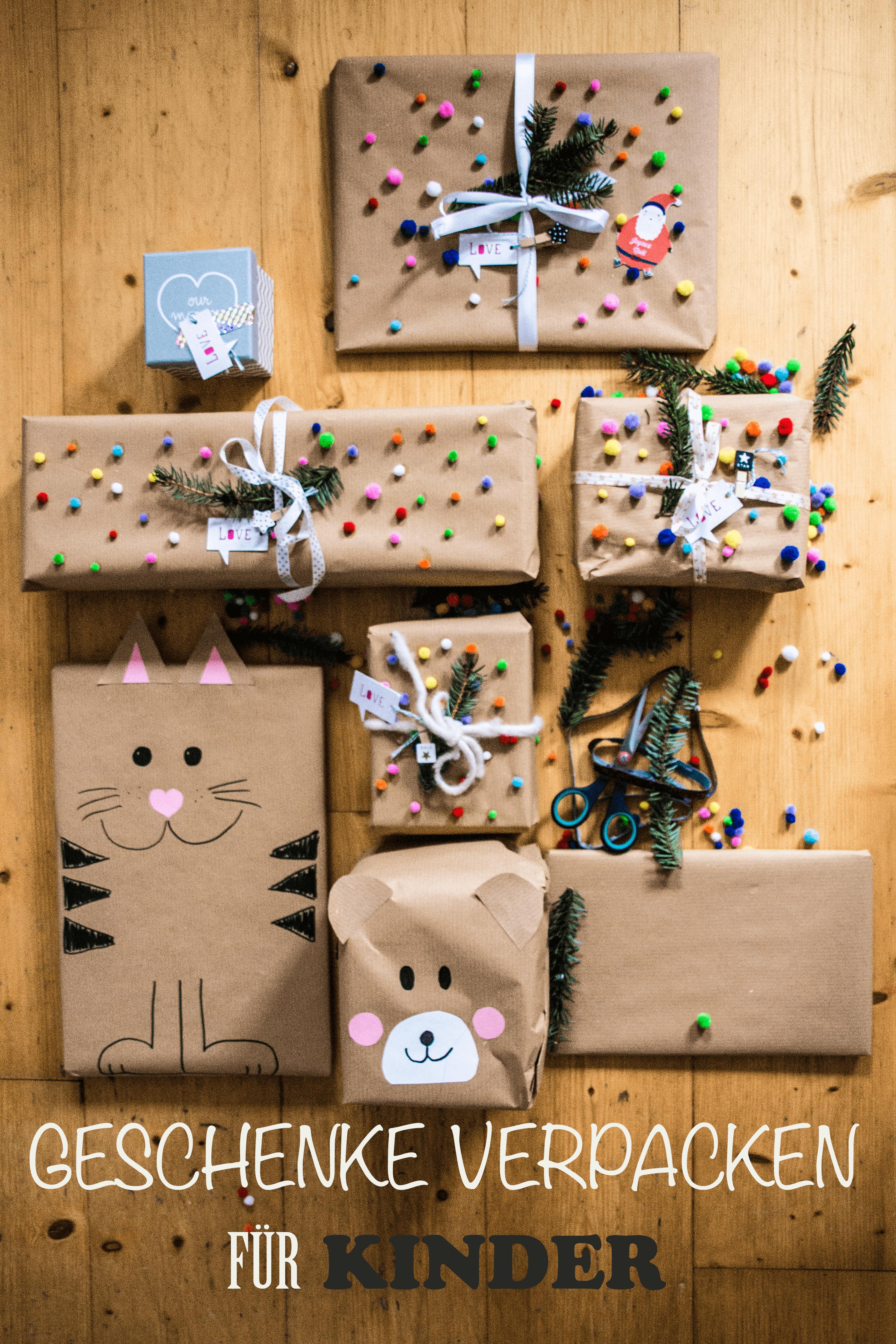 Weihnachtsgeschenke Verpacken Für Kinder Frau Zuckerstein