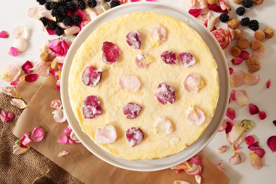 Pfirsich-Parfait-Torte