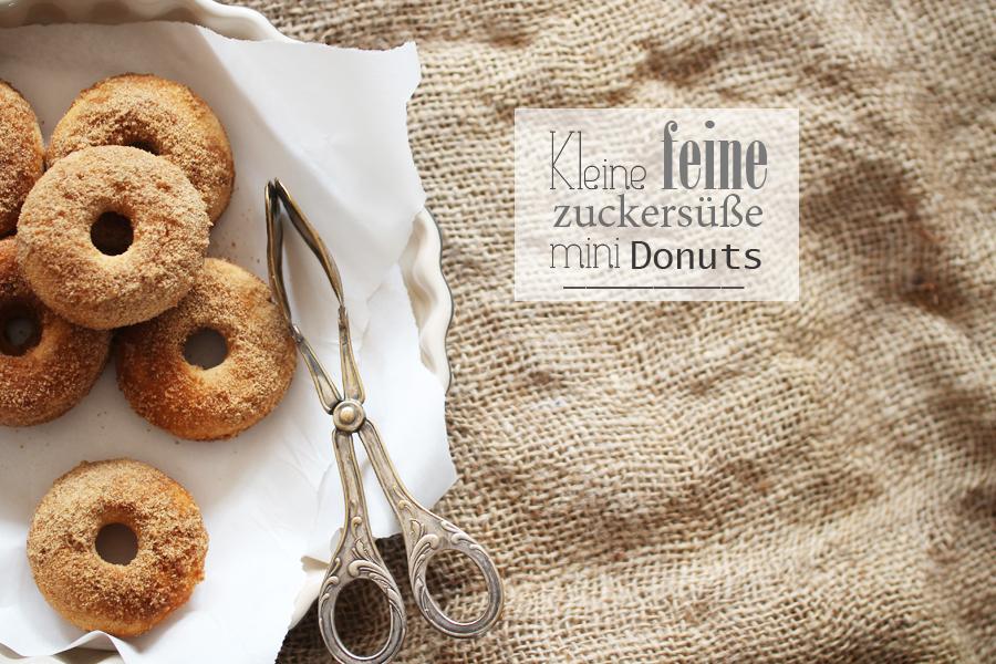 Donuts mit Zucker Glausur
