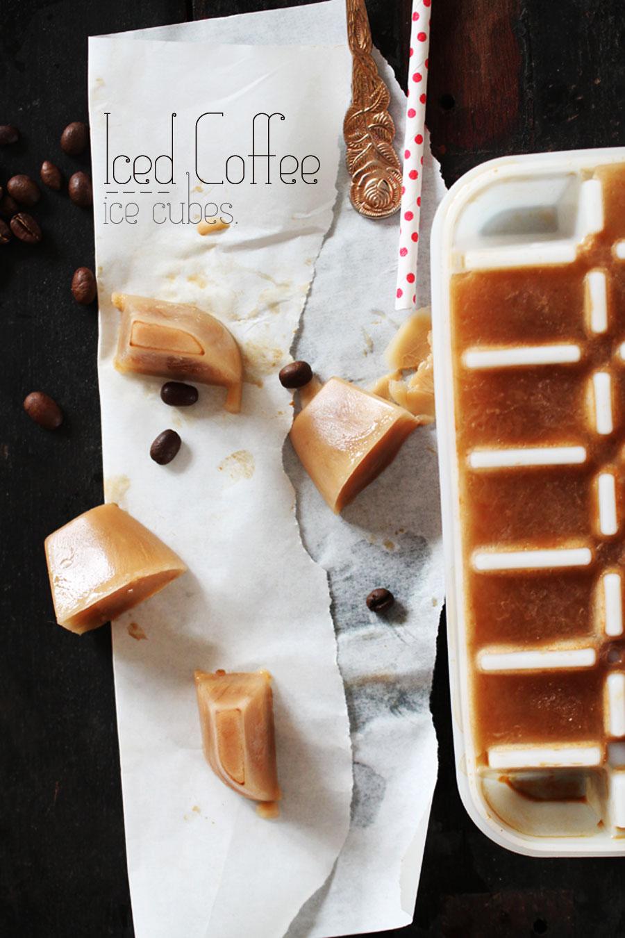 Eiswürfel  Kaffee