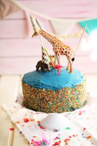 Polka-Dot-Cake selber backen