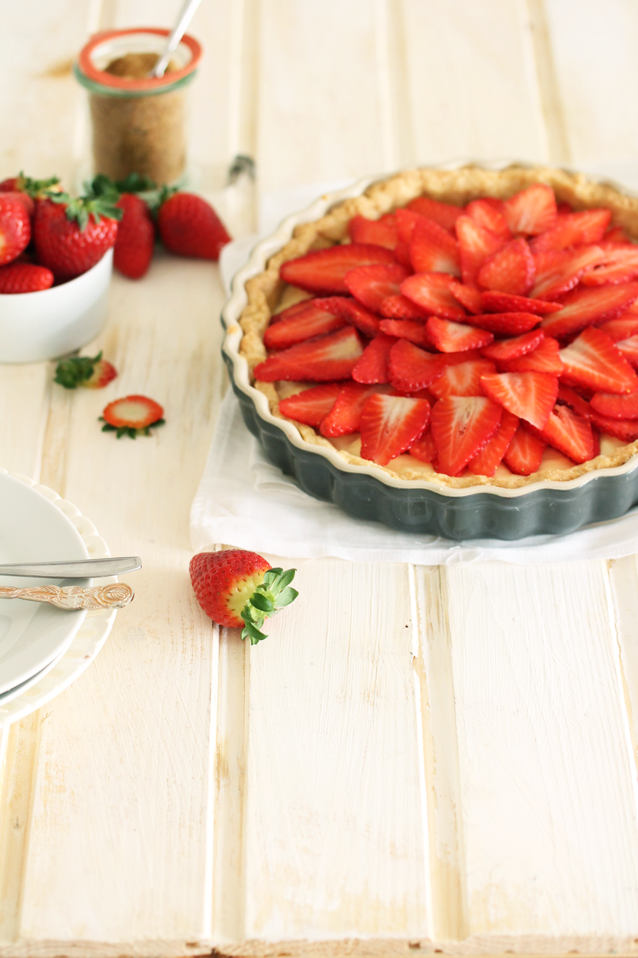 Erdbeer-Tarte