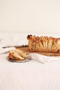 Pull apart bread backen